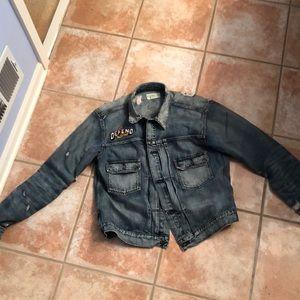 Ralph Lauren denim supply jean jacket custom